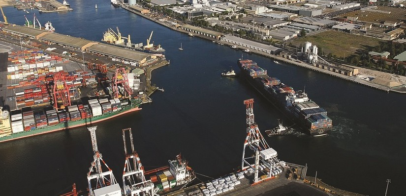 Port of Melbourne. Photo: Port of Melbourne Corporation