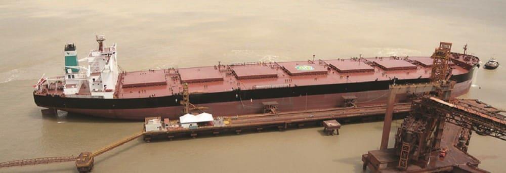 Vale Brazil iron ore carrier. Photo: Vale