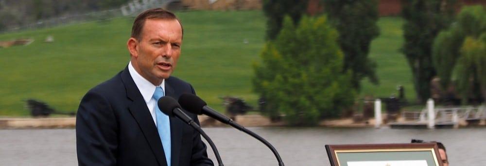 Tony Abbott. Photo: Creative Commons / Nick-D