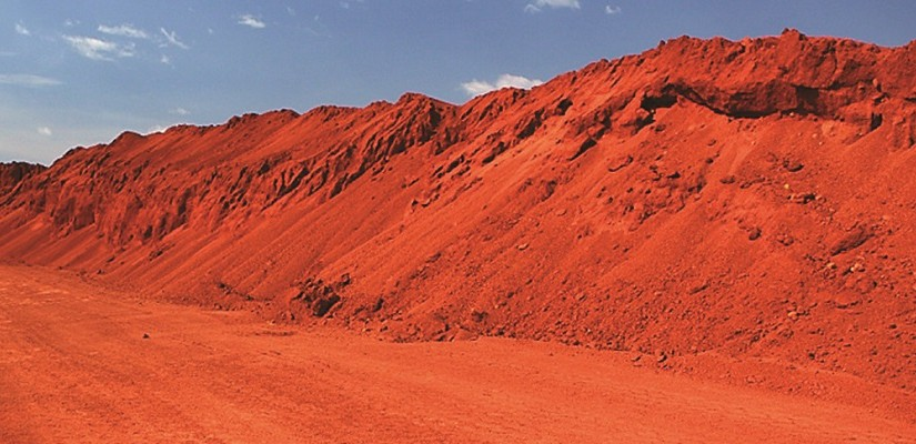Bauxite in Queensland. Photo: Rio Tinto