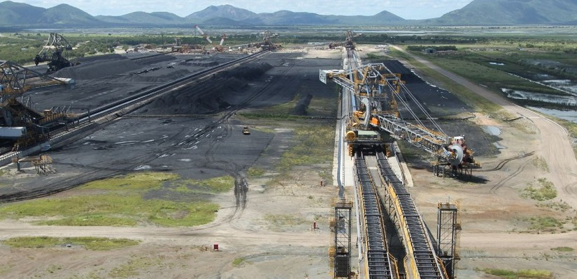 Coal operations at Abbot Point. Photo: North Queensland Bulk Ports