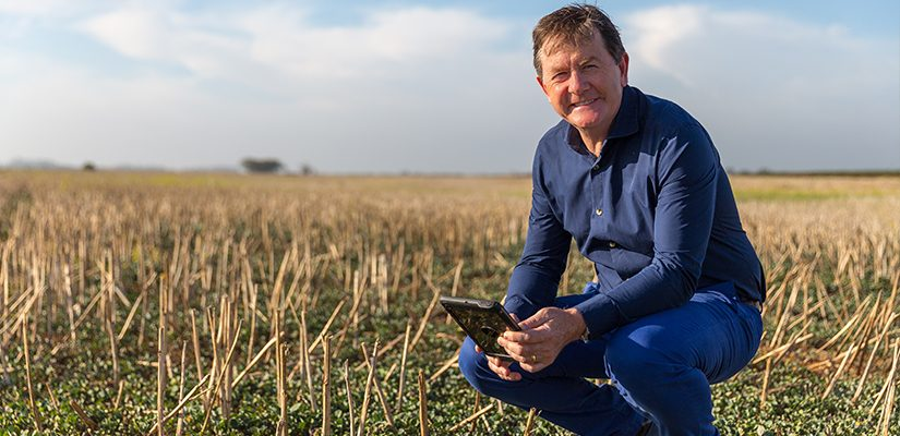 Digital Agriculture Services (DAS) CEO Anthony Willmott