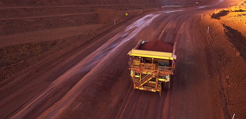 Autonomous truck at Fortescue site. Image: Fortescue Metals Group