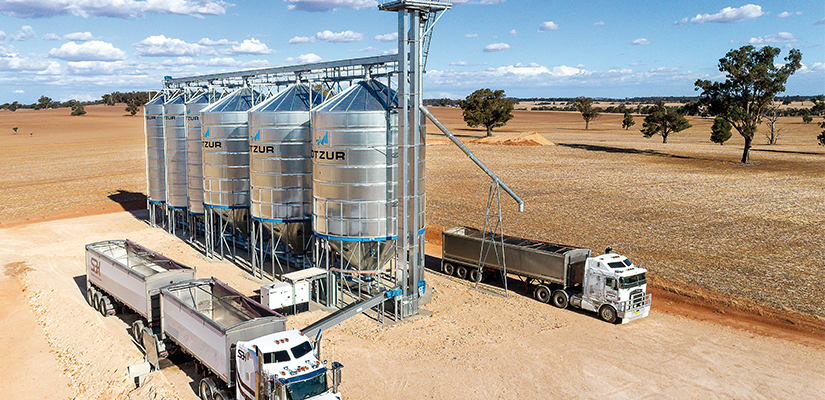 Silo manufacturer Kotzur is helping farmers and bulk handlers optimise their supply chains through more efficient storage.