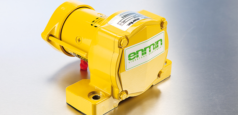 Enmin Vibratory Equipment has developed a solution to keep concrete flowing in batching plants while reducing dust emissions.