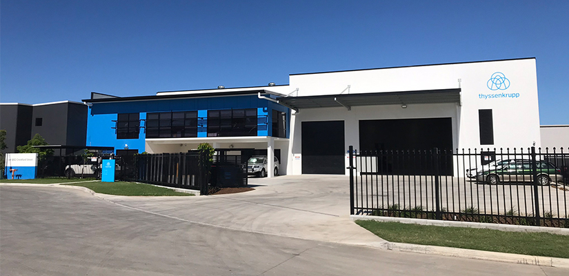 Thyssenkrupp has established a new million-dollar service centre in Brisbane, strategically located to support its customers on the east coast as well as in Oceania.