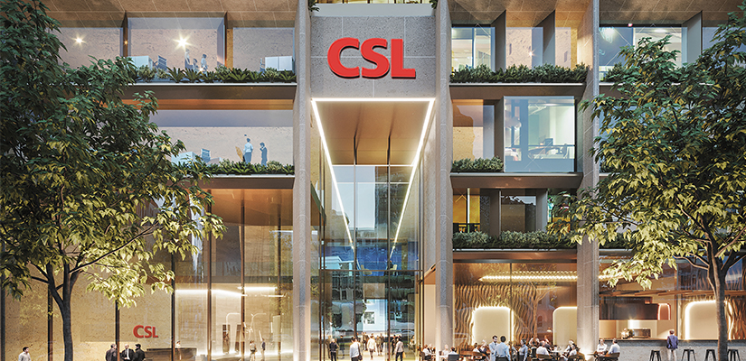 Biotech giant CSL will move its headquarters to a purpose-built facility in Melbourne's Parkville biomedical hub.