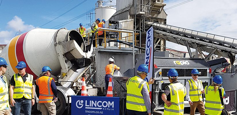 Lincom Group's Concrete Washout Reclaim plant is helping recyclers recover sand, water and aggregates while reducing waste and handling costs.