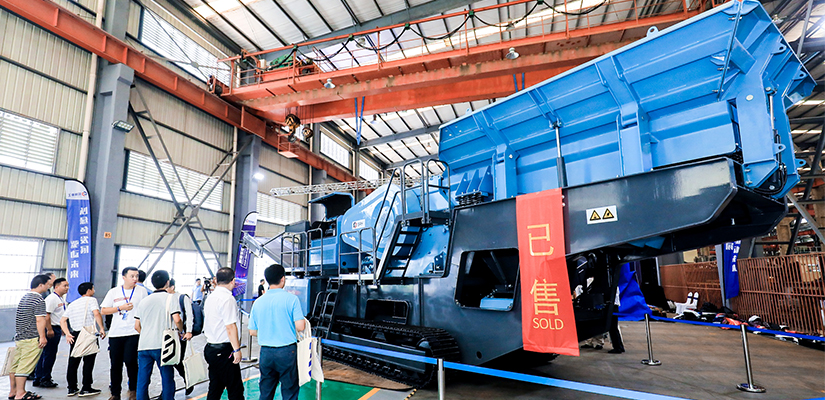 Metso has launched a new line of mobile crushing and screening equipment in China, Shaorui Heavy Industries.