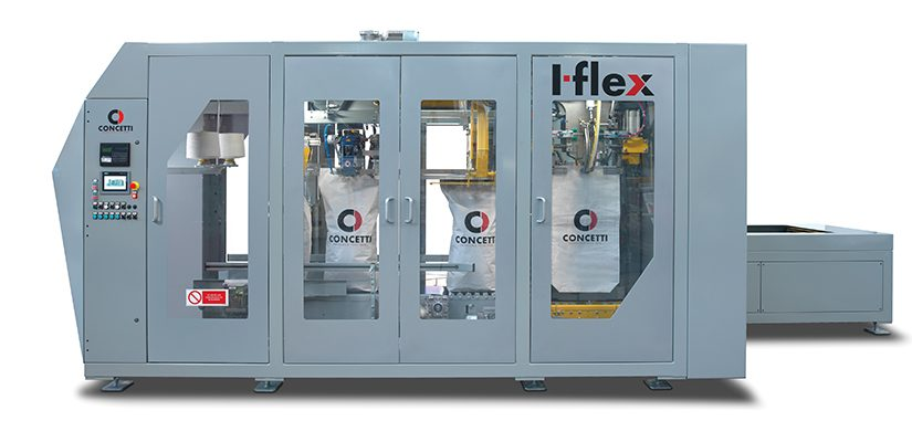 Italian bulk packaging manufacturer Concetti has unveiled the I-flex, its most flexible automated bagging machine for free-flowing products to date.