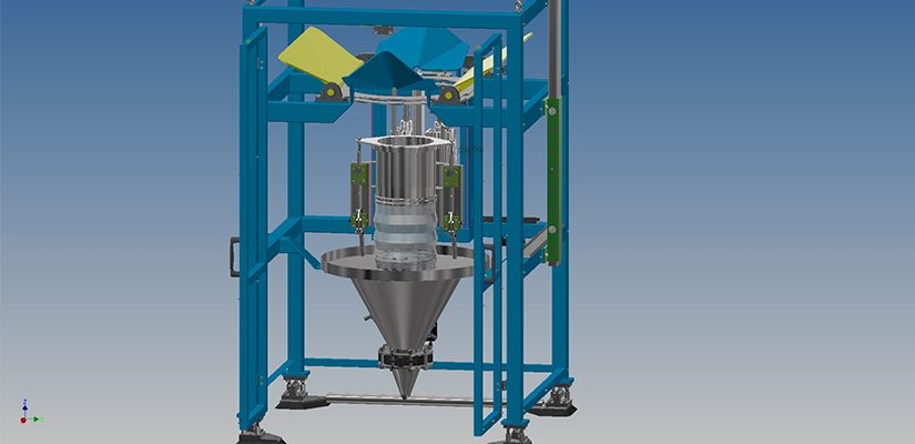 Kockums Bulk Systems (KBS) has developed a fill head that is completely sealed against very fine free flowing powder.