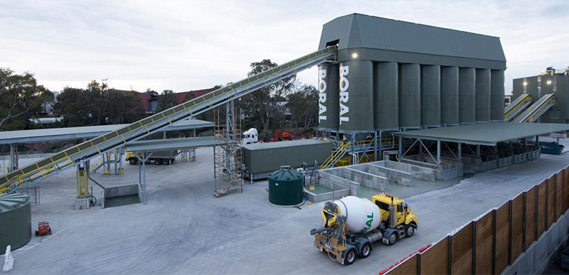 Construction materials company Boral has opened a new concrete plant in West Melbourne, replacing the former North Melbourne plant that was closed to make way for the new Melbourne Metro rail project.
