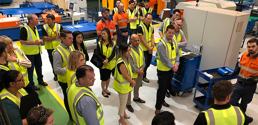 More than 45 local and interstate customers have attended Fenner Dunlop's Open Day to celebrate the launch of its new Brisbane Manufacturing centre.
