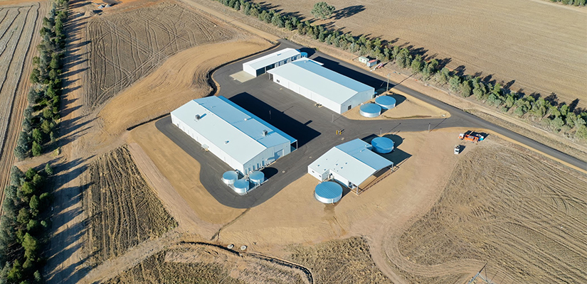 Drones, remote monitoring and advanced data analytics are being used in the CSIRO's new $11.5 million digital agriculture research station in southwest NSW.
