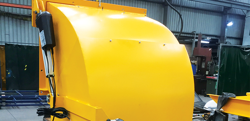 Kilic Engineering has used LINAK's linear actuators to create a more efficient grain stockpiling technology.