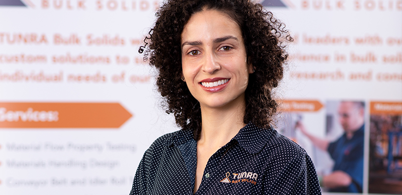 We speak to Priscilla Freire, Business Development Engineer for TUNRA Bulk Solids and Research Development Engineer for the Centre for Bulk Solids & Particulate Technologies.