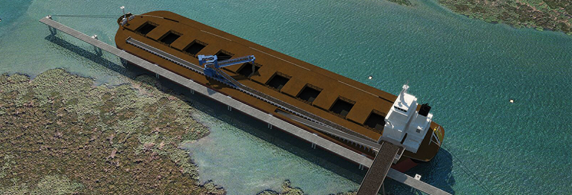 Most bulk material ports are relatively shallow, but the costs of dredging mean this is unlikely to change. Fortunately, there is now a solution to improve throughput without dredging – the Transmax.