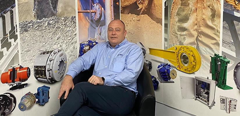 Altra Motion Australia Managing Director Mark Phelan.
