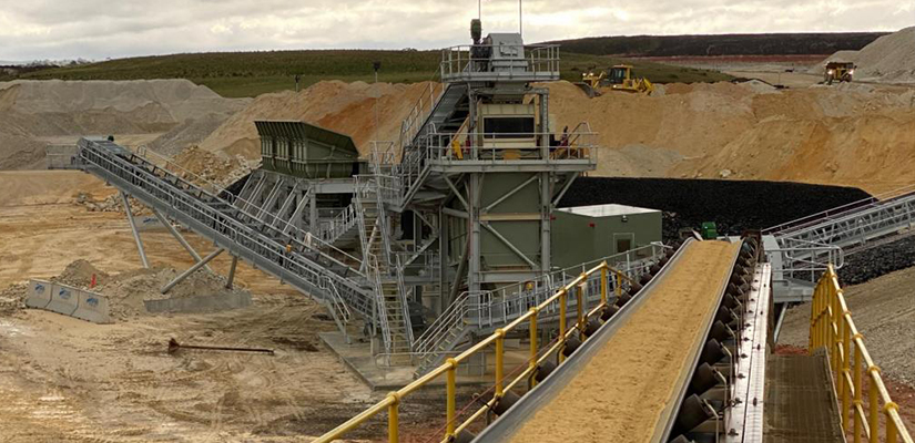 Works are now complete on the $5 million wash plant refurbishment at Boral's Bacchus Marsh Sand Quarry, allowing the company to increase its capacity and support its customer base.