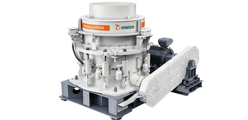 Metso has launched a new cone crusher, the Nordberg HP900 Series, built for increased performance and reduced capital expenditure in the aggregate and mining markets.