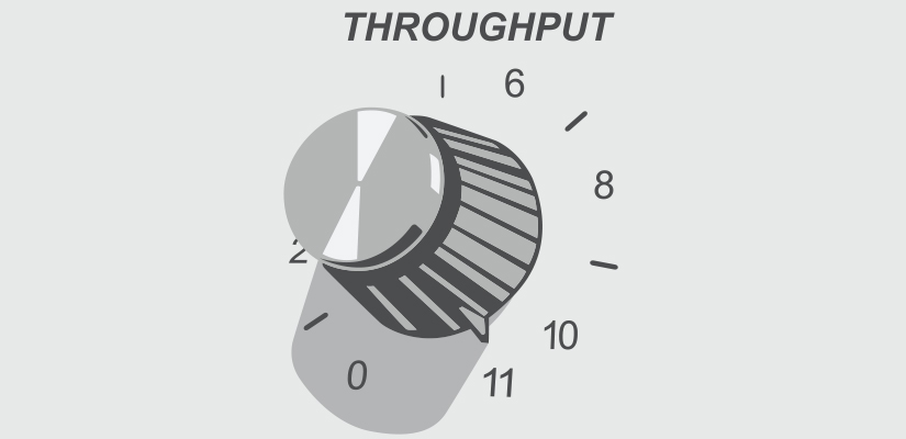 No matter what your '10' equates to in terms of throughput, there are times when you need to go to '11'. Corin Holmes, Operations Manager at Jenike & Johanson, explains what you need to know before fiddling with your plant's throughput dial.