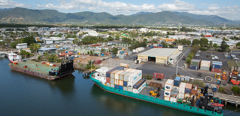 Construction has been completed on the major Cairns Port upgrade with finishing touches now underway on six of the site's wharves.