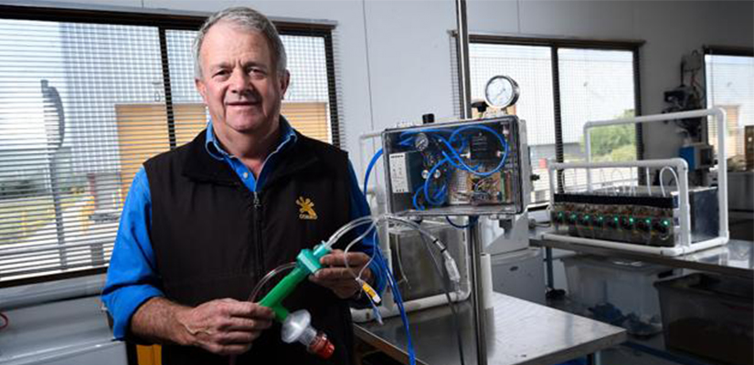 A Ballarat manufacturer of mine plant equipment has turned its focus to create ventilators, as part of Australia's global response to the COVID-19 pandemic.