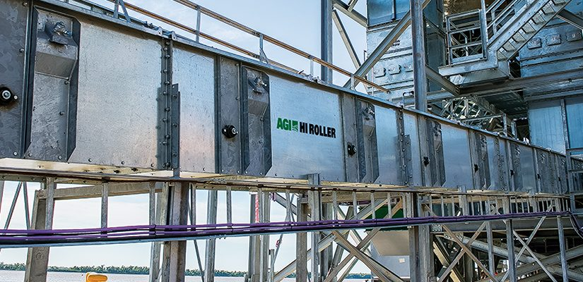 With more than 40 years of experience, Ag Growth International's Hi Roller conveyors are helping grain handlers cut clean-up costs while improving safety.