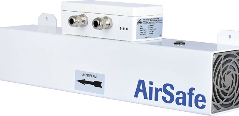 To avoid a potential explosive risk, a PVC powder manufacturer has installed the AirSafe 2 dust monitoring system.