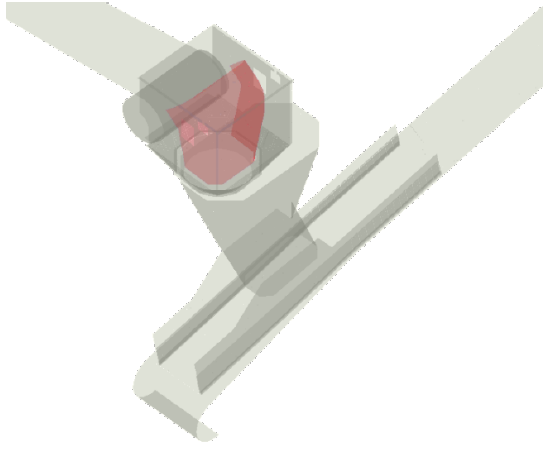 Figure 1: Configuration of the stacker chute