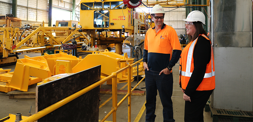 John Holland has mobilised an advanced specialist railway fleet to carry out maintenance and service support across the Pilbara in Western Australia.