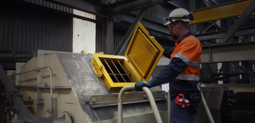Chute doors are an integral part of conveyor systems, necessary to allow workers access to the conveyor chute. Most traditional chute doors require a specialised tool to open them, which can become time intensive and cause downtime and present a hazard to employees.