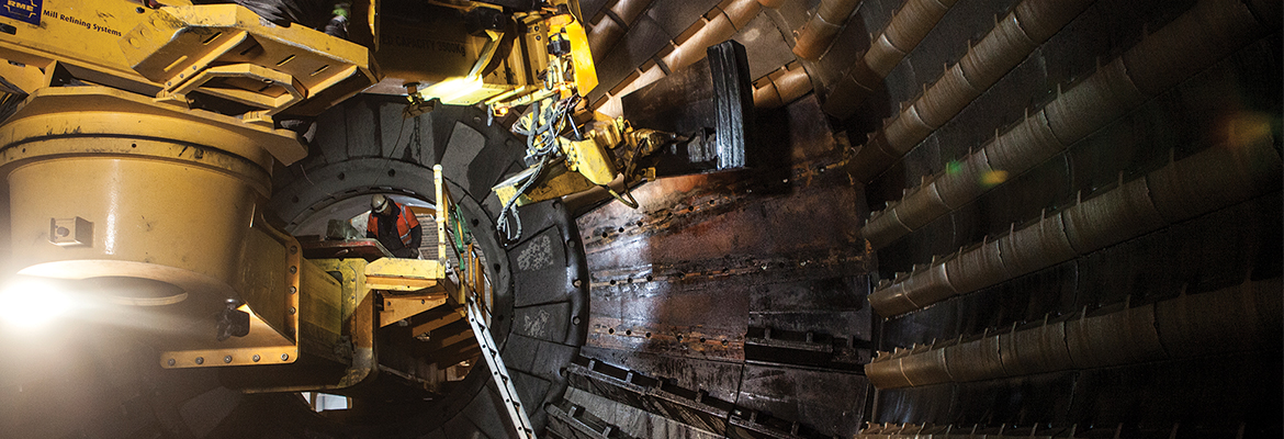 One of Sweden's largest open-air copper mines has adopted a milling solution that minimises components and maximises uptime.