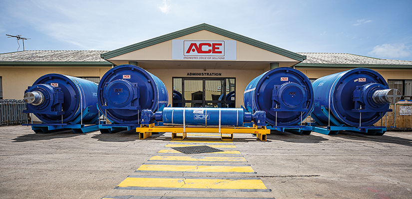 Fenner Dunlop ACE has been contracted to deliver an overland conveyor system for Anglo American's Aquila project. ABHR speaks to Brendon Harms, Regional Manager of ACE Queensland to find out more.