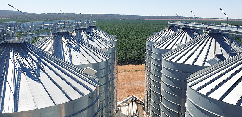 Australian silo manufacturer Kotzur uses custom designs to ensure food manufacturers can keep their product clean, quality and continuously flowing.