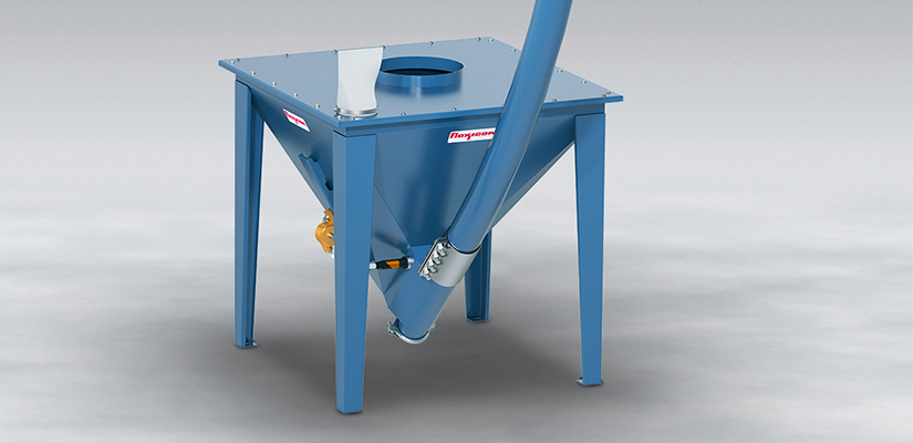 Flexicon has unveiled a wear-resistant, flexible screw conveyor, capable of moving crushed glass, garnet, aluminium oxide, silica sand, aggregate, cement and other abrasive materials.