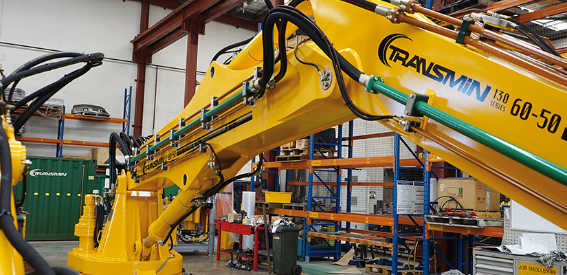 Perth-based equipment manufacturer Transmin has developed a new series of rockbreakers that use automation to improve safety and productivity.