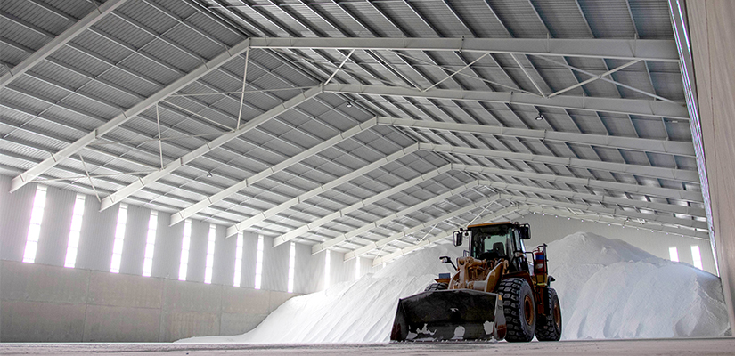 An expansive new bulk storage facility in South Australia will provide a space for 24,000 tonnes of product to be stored by Natrio, the world's largest distributor of soda ash.
