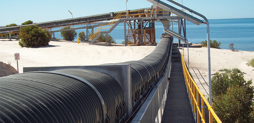 Gough Plastics has developed a conveyor belt cover that not only reduces dust emissions, but also cuts down on waste and maintenance.