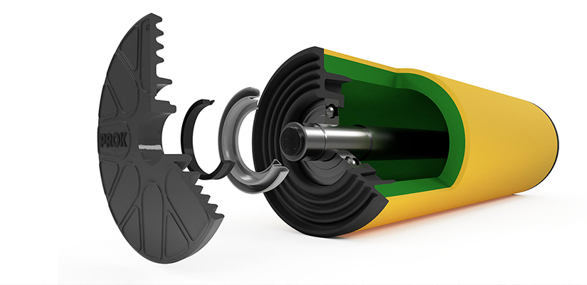 Roller changeouts are a major challenge in the mining conveyor space. PROK shares its newest PROK HDPE roller featuring a wear indicator layer to simplify maintenance requirements.